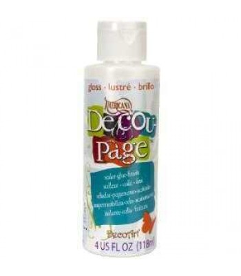 Decoupage Sealer/Glue Gloss 4OZ