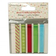 Dovecraft Back to Basics Christmas Modern - Ribbon