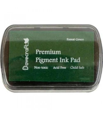 ♥ DOVECRAFT INK PAD ♥    ♥ PREMIUM PIGMENT INK  ♥ Forest Green