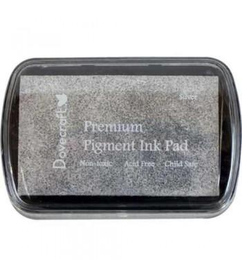 ♥ DOVECRAFT INK PAD ♥    ♥ PREMIUM PIGMENT INK  ♥ Silver