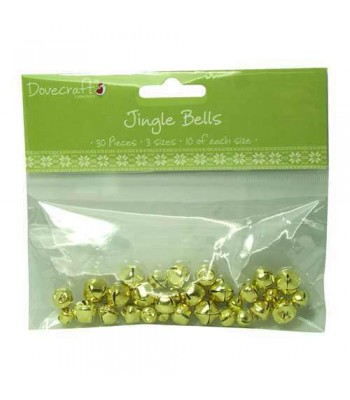 Dovecraft Jingle Bells - Gold
