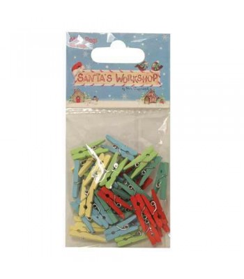 Helz Cuppleditch Santa's Workshop Mini Pegs