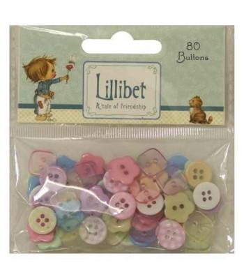 Lillibet Plastic Buttons