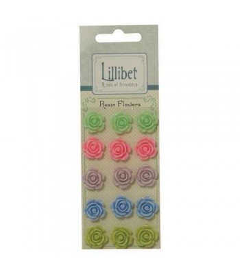 Lillibet Resin Flowers