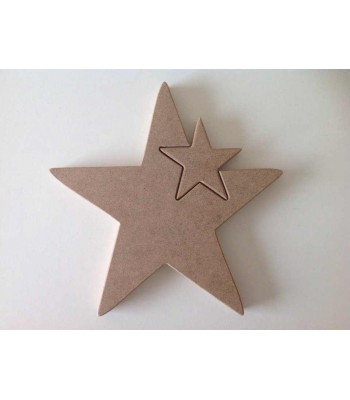 Freestanding MDF Linking Star In A Star