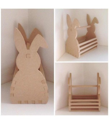 XL Easter Bunny Basket - 18mm Router Cut