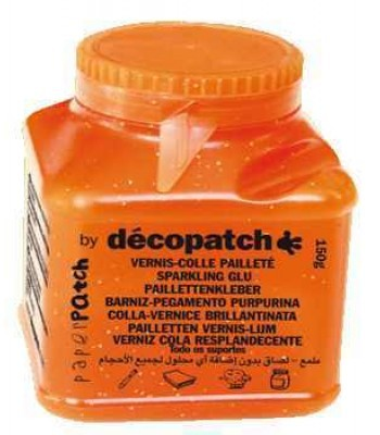 Decopatch Paperpatch glossy glitter - Varnish 150g