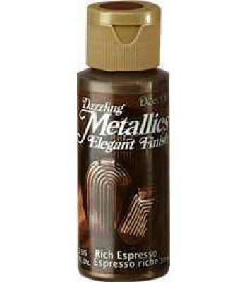 Rich Espresso DecoArt Metallic Paint 2oz