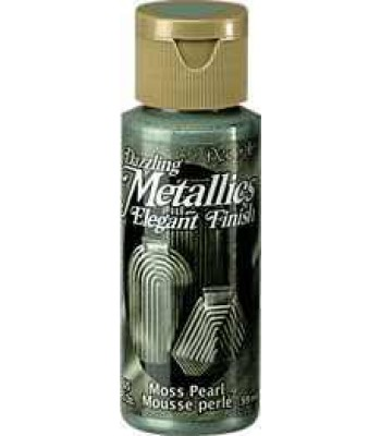 Moss Pearl DecoArt Metallic Paint 2oz