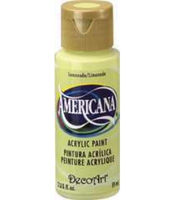 2oz Lemonade Amer Acrylic Craft Paint