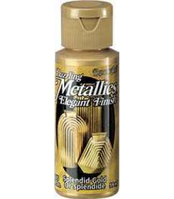 Splendid Gold DecoArt Metallic Paint 2oz
