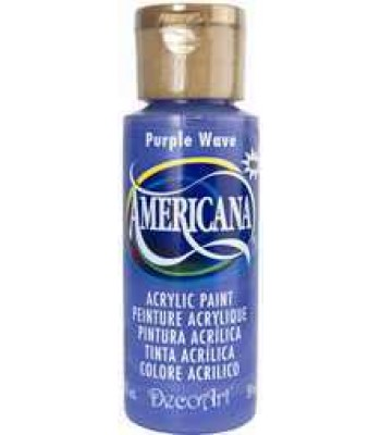 2oz  Purple Wave Amer Acrylic Craft Paint